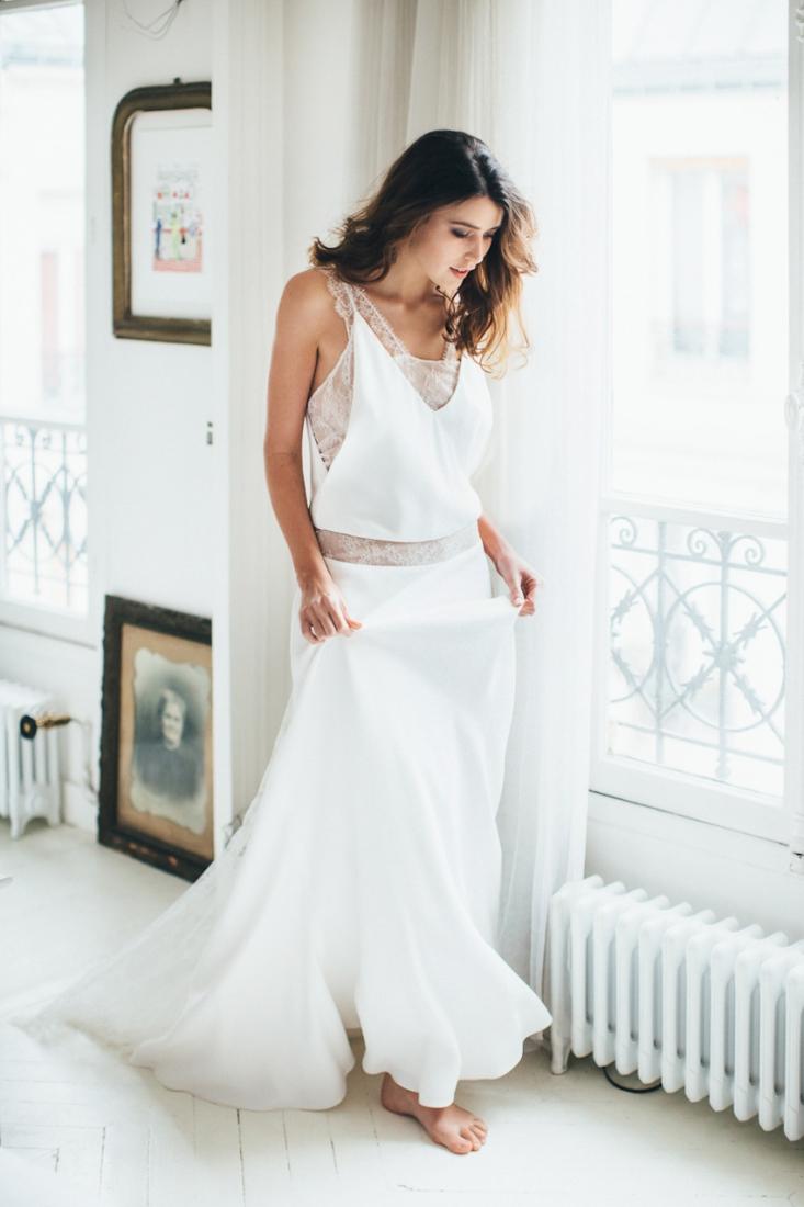 Sophie Sarfati robe de mariee creatrice a Paris - Stylisme La Fiancee du Panda - photos Yann Audic -shooting ambiance blog mariage-9053