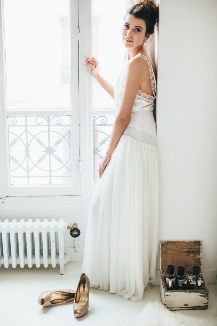 Sophie Sarfati robe de mariee creatrice a Paris - Stylisme La Fiancee du Panda - photos Yann Audic  -shooting ambiance blog mariage-9341