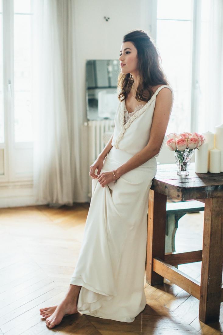 Sophie Sarfati robe de mariee creatrice a Paris - Stylisme La Fiancee du Panda - photos Yann Audic -shooting ambiance blog mariage-9587