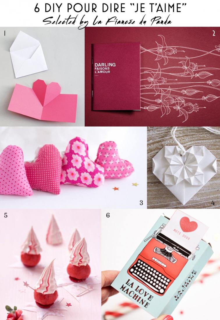 6 diy st valentin pour dire je t 39 aime - Cadeau fait main pour son amoureux ...