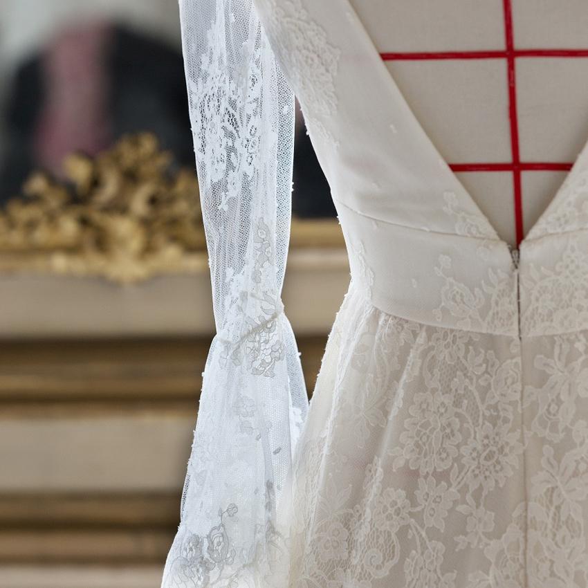 Robe de mariée: Delphine Manivet x Guerlain {avant-première}
