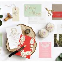 Faire part mariage champetre Mister M Studio - La Fiancee du Panda blog mariage