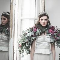 Inspiration deco mariage en blanc l Photos La Femme Gribouillage - fleurs Lily Paloma l La Fiancée du Panda blog mariage--11