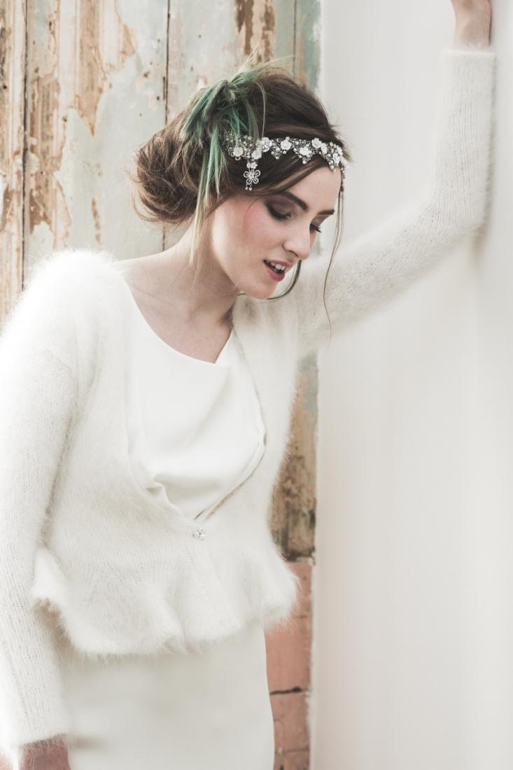 Inspiration deco mariage en blanc l Photos La Femme Gribouillage - fleurs Lily Paloma l La Fiancée du Panda blog mariage--15
