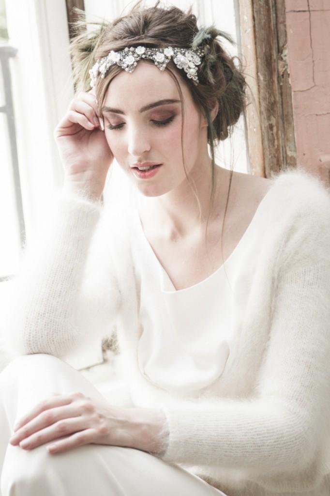 Inspiration deco mariage en blanc l Photos La Femme Gribouillage - fleurs Lily Paloma l La Fiancée du Panda blog mariage--19