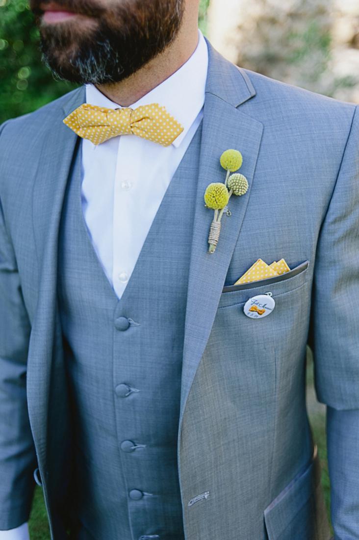 Noeud papillon Le Colonel Moutarde mariage jaune - Nino Will Photography - La Fiancee du Panda blog mariage