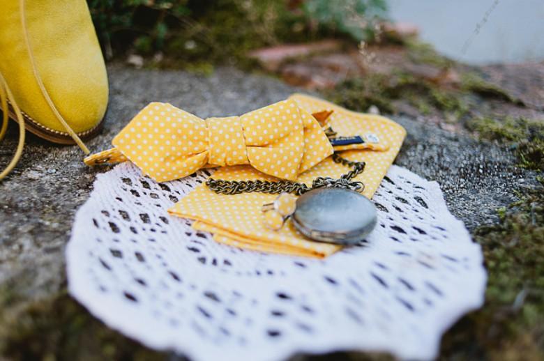 Noeud papillon jaune Le Colonel Moutarde - Nino Will Photography - La Fiancee du Panda blog mariage