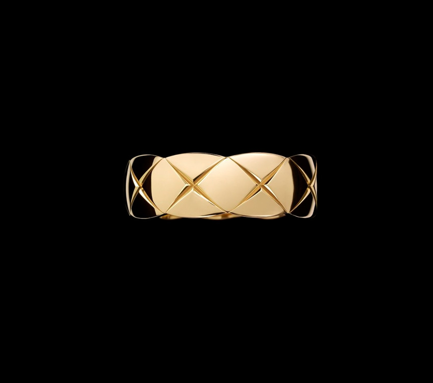 Collection COCO Crush Chanel Joaillerie l Bague de fiancailles ...
