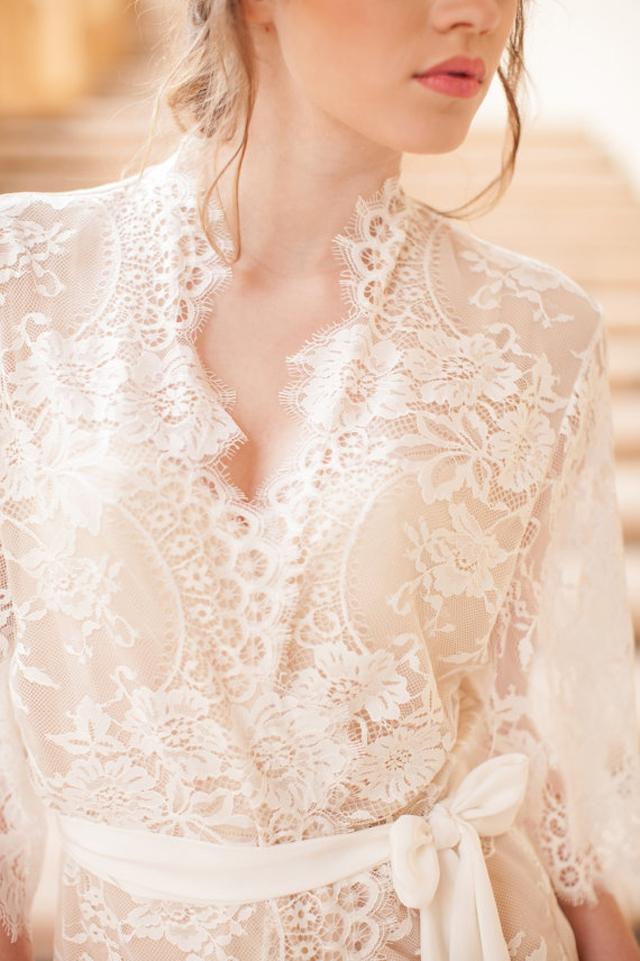 joli peignoir dentelle mariee preparatifs l etsy l la fiancee du panda blog mariage - Prparatif Mariage