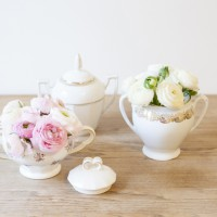 Mariage location de vaisselle vintage l La Fiancee du panda blog mariage