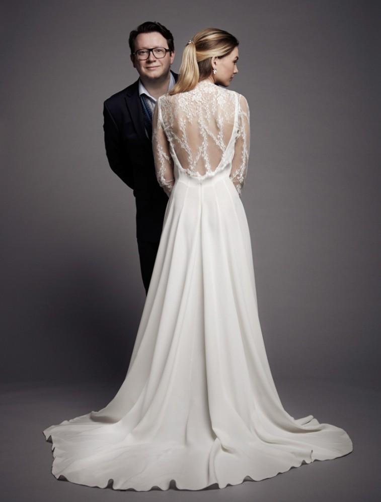 Robe de mariee Christophe-Alexandre Docquin createur Paris l collection 2015 l La Fiancee du Panda blog mariage-