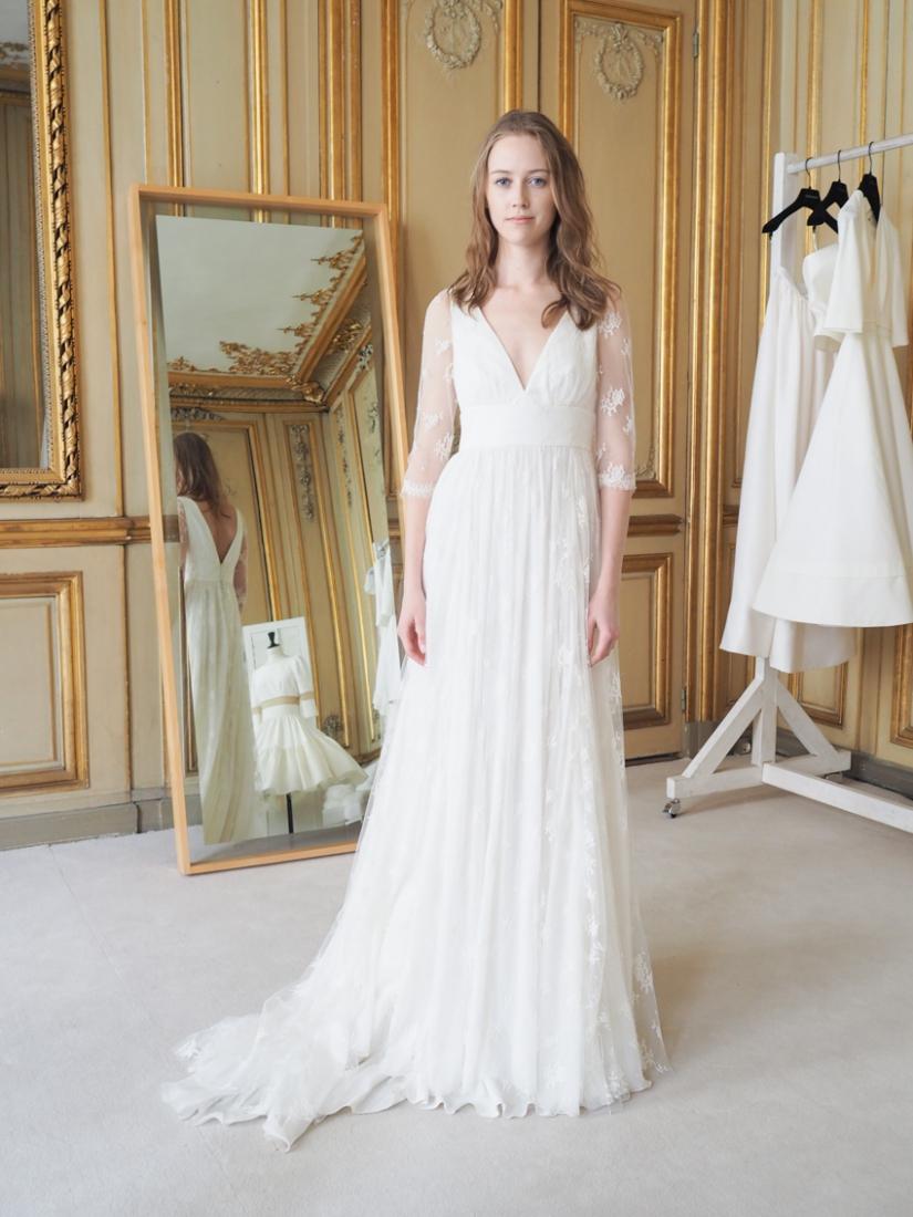 Robe de mariee Delphine Manivet Aimé collection 2016 l La Fiancee du ...