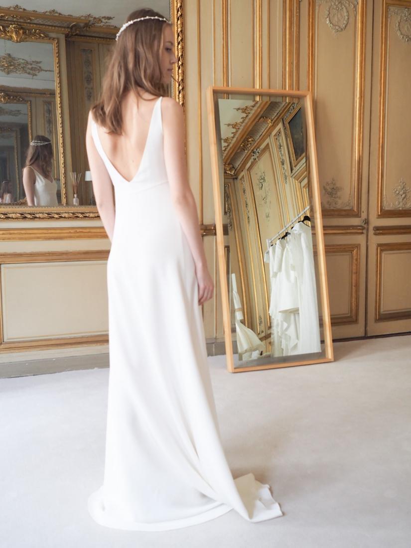 Wedding dress Delphine Manivet bridal designer Paris collection 2016 l La Fiancee du Panda blog mariage-4240515
