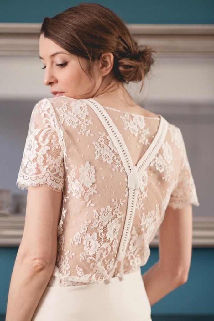 Robe de mariée: dans l'atelier de Mathilde Marie {portrait de ...