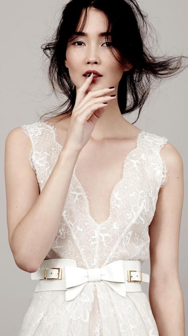robe de mariee dentelle berlin kaviar gauche l la fiancee du panda blog mariage - La Roub De Mariage