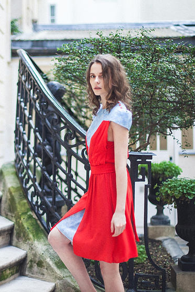 Robe temoin mariage personnalisee Ateliers Margot made in France l La Fiancee du Panda blog mariage
