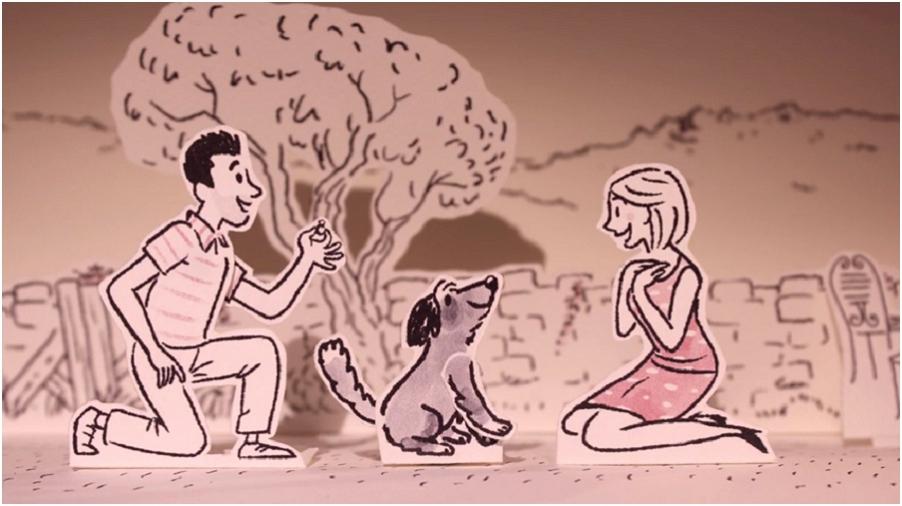 Video de mariage stop motion pop-up l Soymilk Wedding l La Fiancee du Panda blog mariage