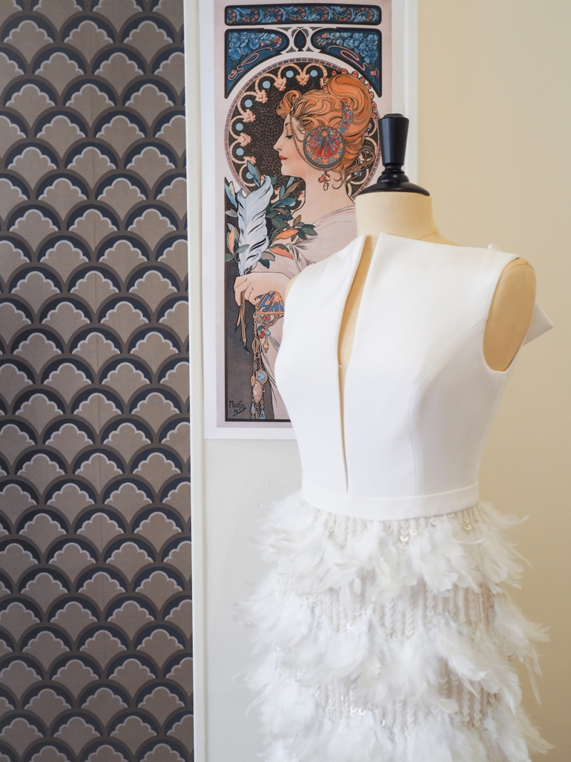 Boutique robe de mariee Paris 18eme Plume createurs anglais et americains l La Fiancee du Panda blog mariage-6041359