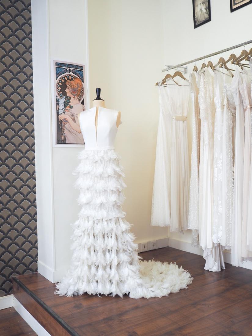 Boutique robe de mariee Paris 18eme Plume createurs anglais et americains l La Fiancee du Panda blog mariage-6041395