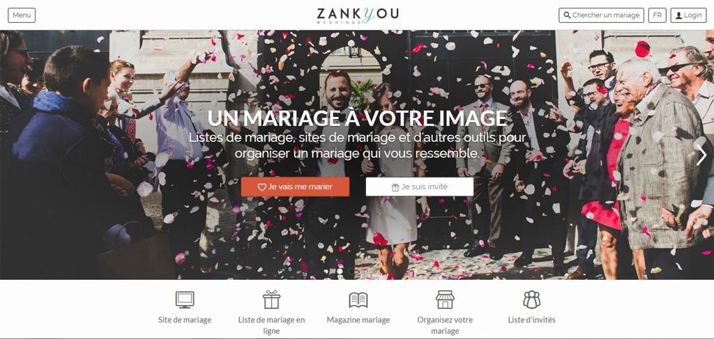 cr er sa liste de mariage en ligne avec zankyou avis. Black Bedroom Furniture Sets. Home Design Ideas