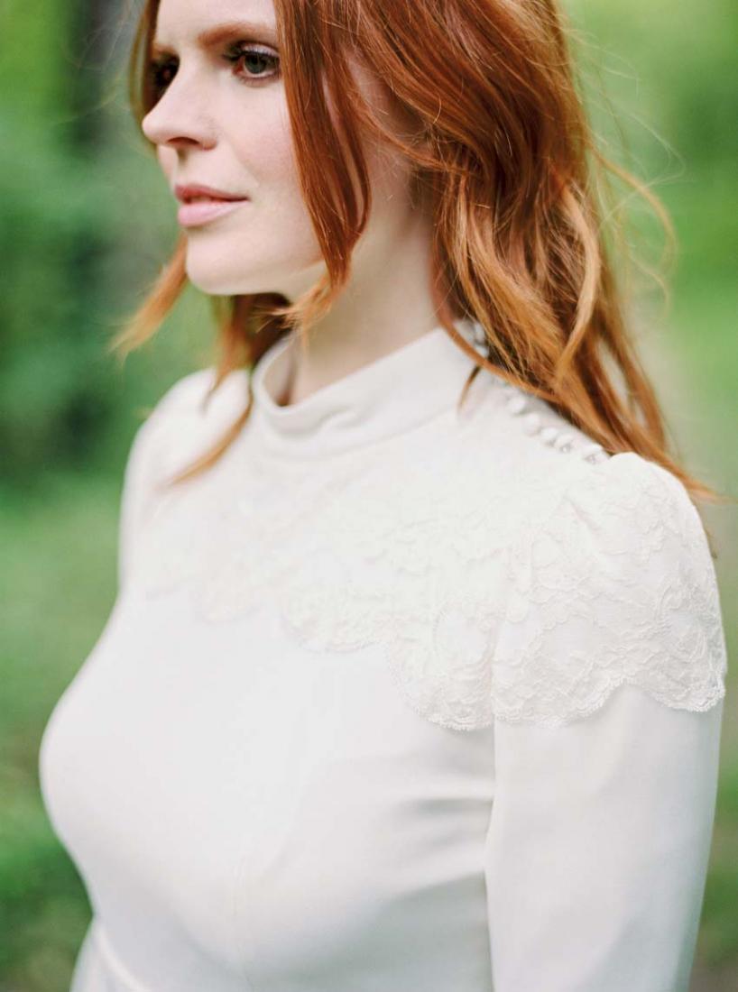 Robe de mariee courte Stephanie Wolff Paris Nova collection 2016 l La Fiancee du Panda blog mariage