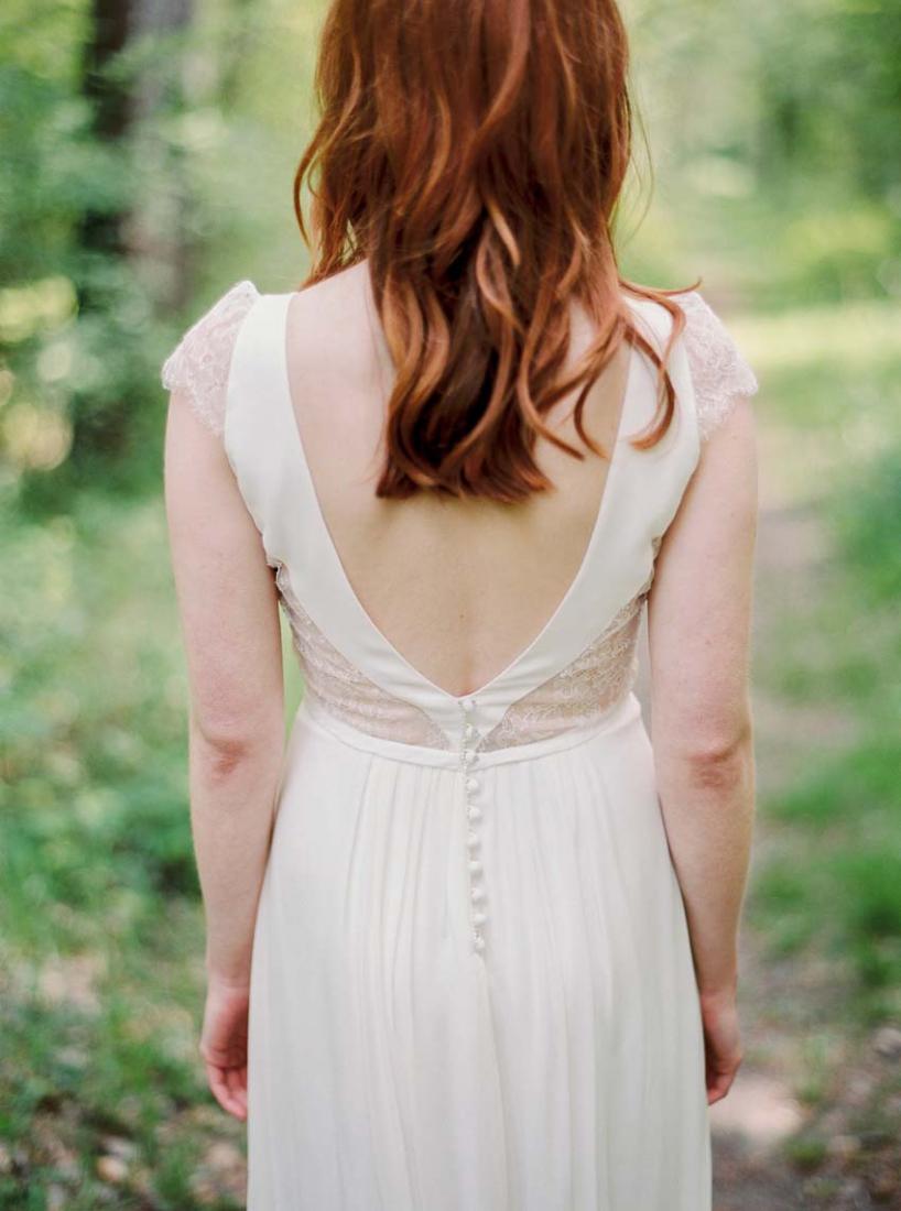 Robe de mariee dos nu glamour Stephanie Wolff Paris Primavera l La Fiancee du Panda blog mariage