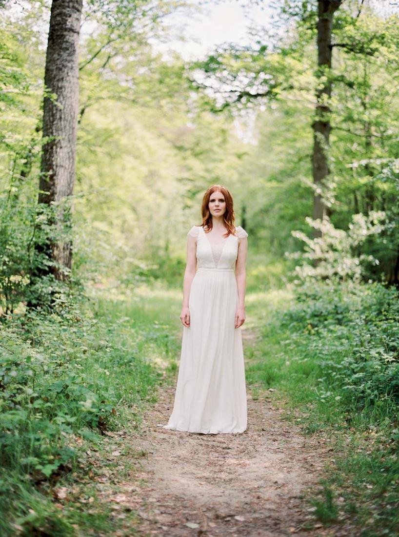 Robe de mariee gatsby annees Vingt Stephanie Wolff Paris Top Neil Jupe Wild collection 2016 l La Fiancee du Panda blog mariage