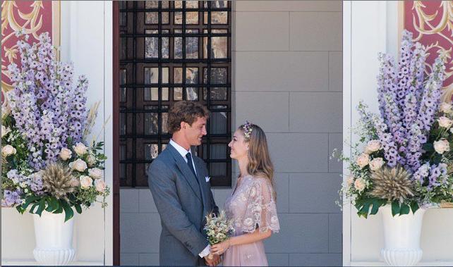 Mariage Pierre Casiraghi et Beatrice Borromeo l Photo Maison Valentino l La Fiancee du Panda blog mariage