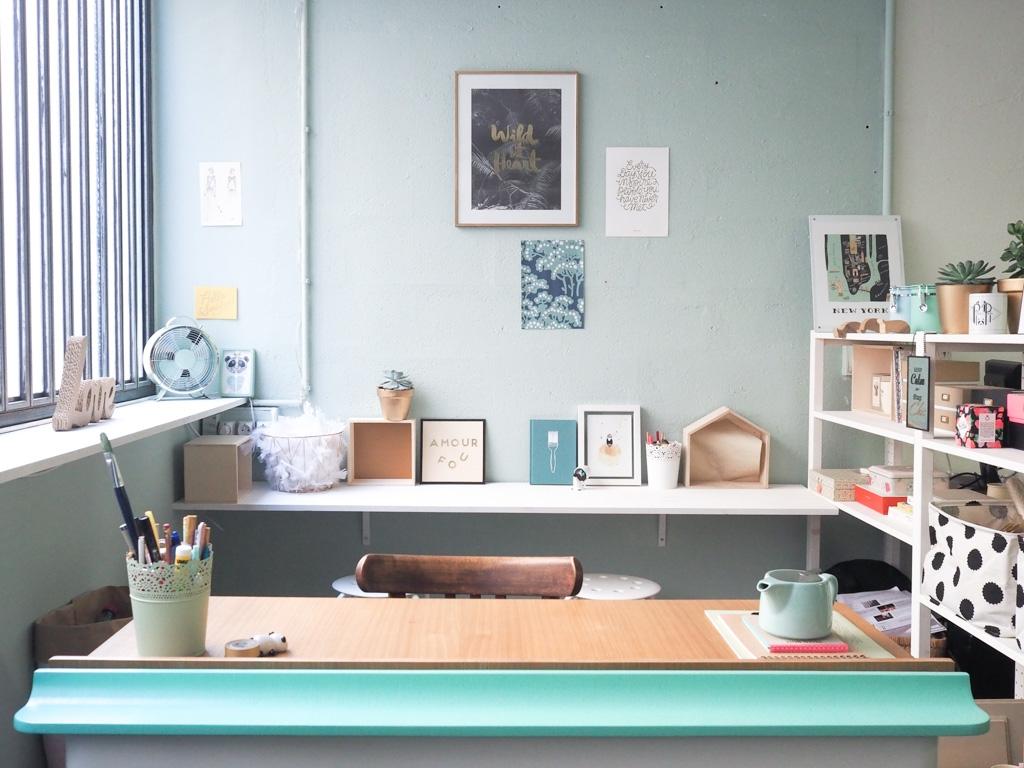 mon bureau de blogueuse bienvenue la panda factory. Black Bedroom Furniture Sets. Home Design Ideas