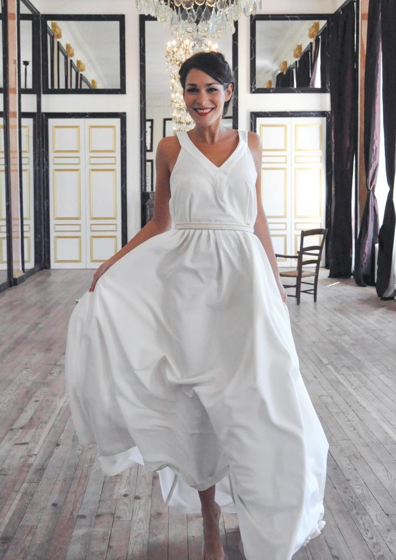 robe de mariee originale berengere cardera sur mesure paris l modele ...