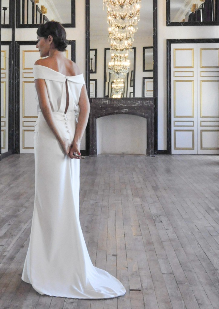 Robe de mariee Sophie Sarfati Babel 7-Collection 2015 - La Fiancee du ...