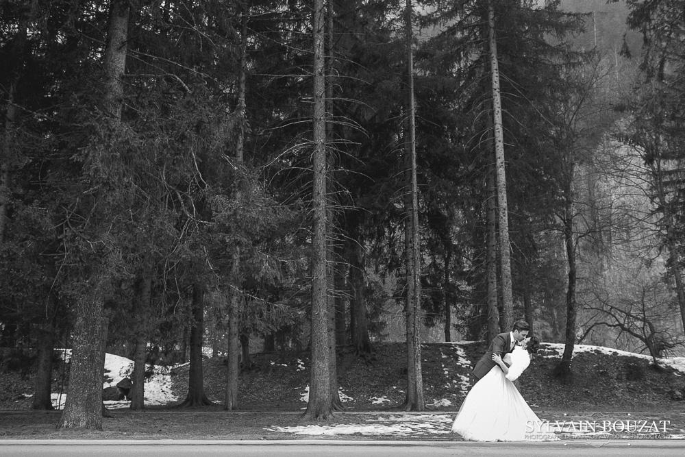 mariage a chamonix montagne hiver l photographe sylvain bouzat l la fiancee du panda blog mariage - Photographe Mariage Chamonix