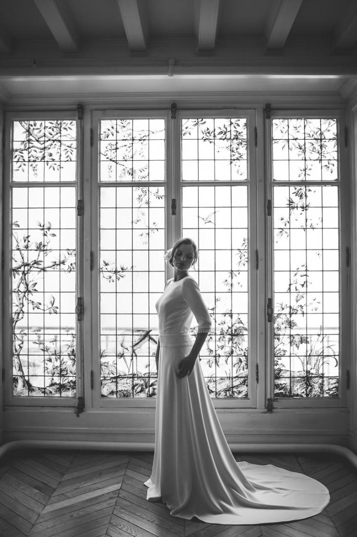 Mathilde Marie robe de mariee dos nu Paris l La Fiancee du Panda blog mariage-