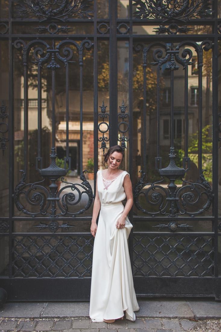 mathilde marie robe de mariee sur mesure collection 2016 l la fiancee du panda blog mariage 8. Black Bedroom Furniture Sets. Home Design Ideas