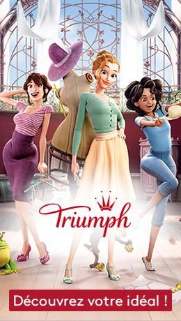 Triumph lingerie mariage