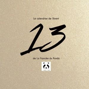 Calendrier de l'Avent instagram blog La Fiancee du Panda 13