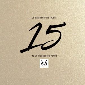 Calendrier de l'Avent instagram blog La Fiancee du Panda 15