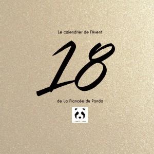 Calendrier de l'Avent instagram blog La Fiancee du Panda 18