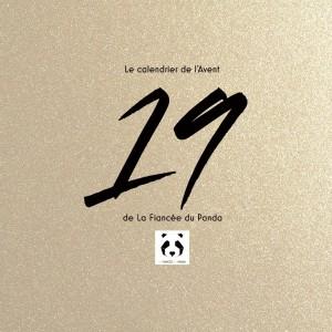 Calendrier de l'Avent instagram blog La Fiancee du Panda 19