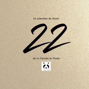 Calendrier de l'Avent instagram blog La Fiancee du Panda 22