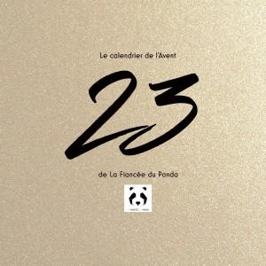 Calendrier de l'Avent instagram blog La Fiancee du Panda 23