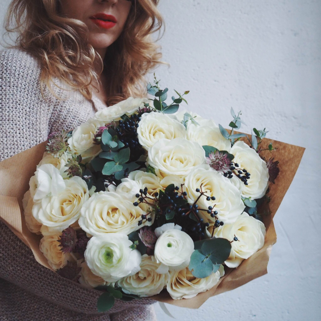 Bouquet de fleurs St Valentin Bergamotte l La Fiancee du Panda blog mariage
