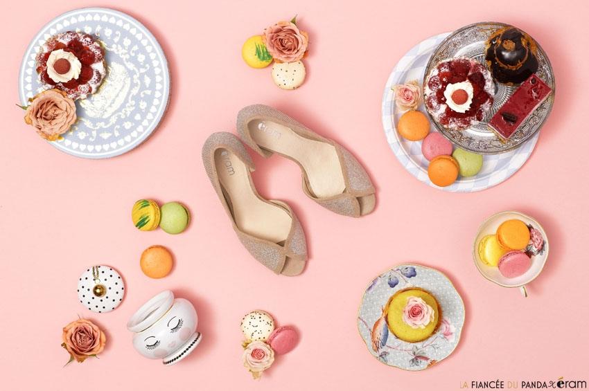 Chaussures mariage retro Eram l Photo La Fiancee du Panda blog mariage tous droits reserves w