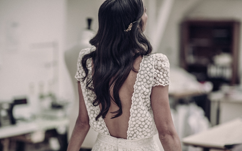 Laure de Sagazan robe de mariee courte dos nu 2016 Laclos l La Fiancee du Panda blog mariage