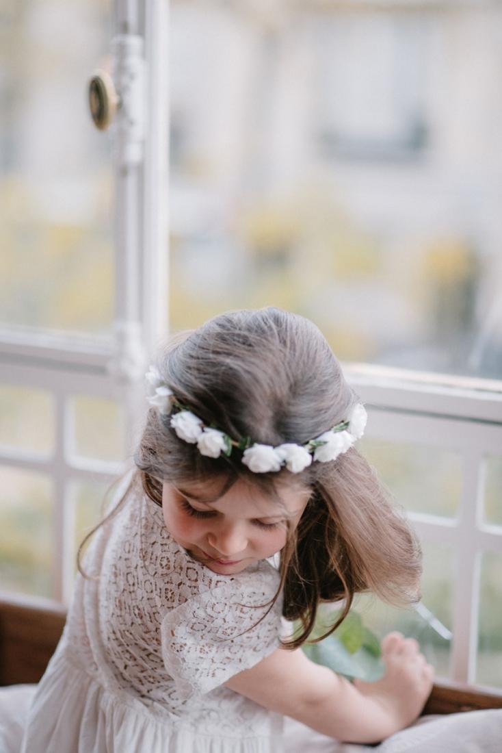 Lorafolk x Monoprix demoiselle d'honneur couronne de fleurs l La Fiancee du Panda blog mariage