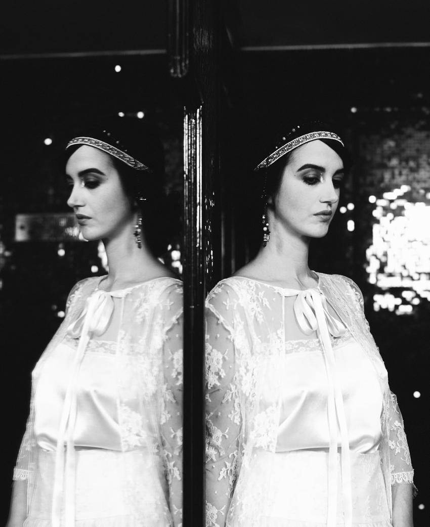 Mariage Art Deco inspiration maquillage l Photo Alex Tome l La Fiancee du Panda blog mariage