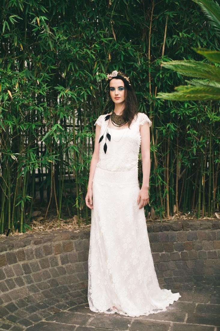 Mariage gypset robe de mariee l Photo Alex Tome l La Fiancee du Panda blog mariage