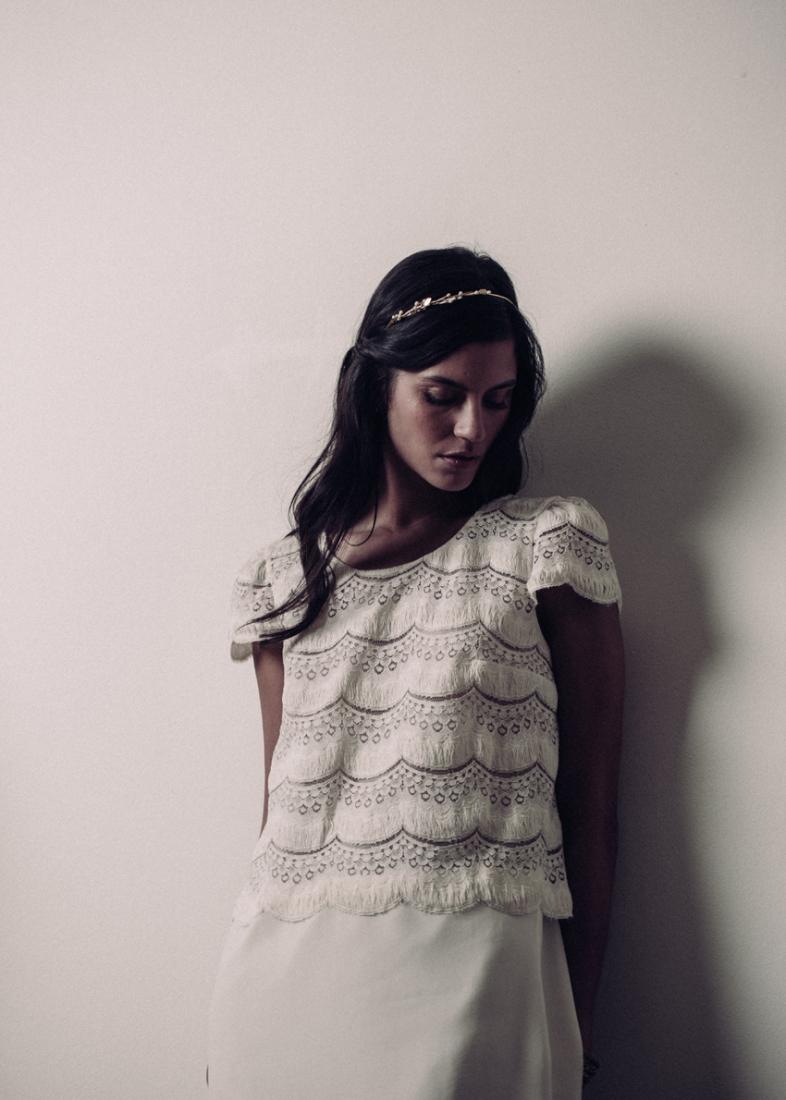 Robe de mariee Laure de Sagazan 2016 Noailles mariage civil l La Fiancee du Panda blog mariage