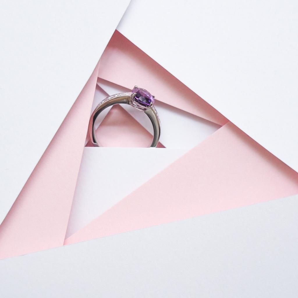 Bague de fiancailles Gemmyo collection Madame 2016 diamant tanzanite l La Fiancee du Panda blog mariage-4222485