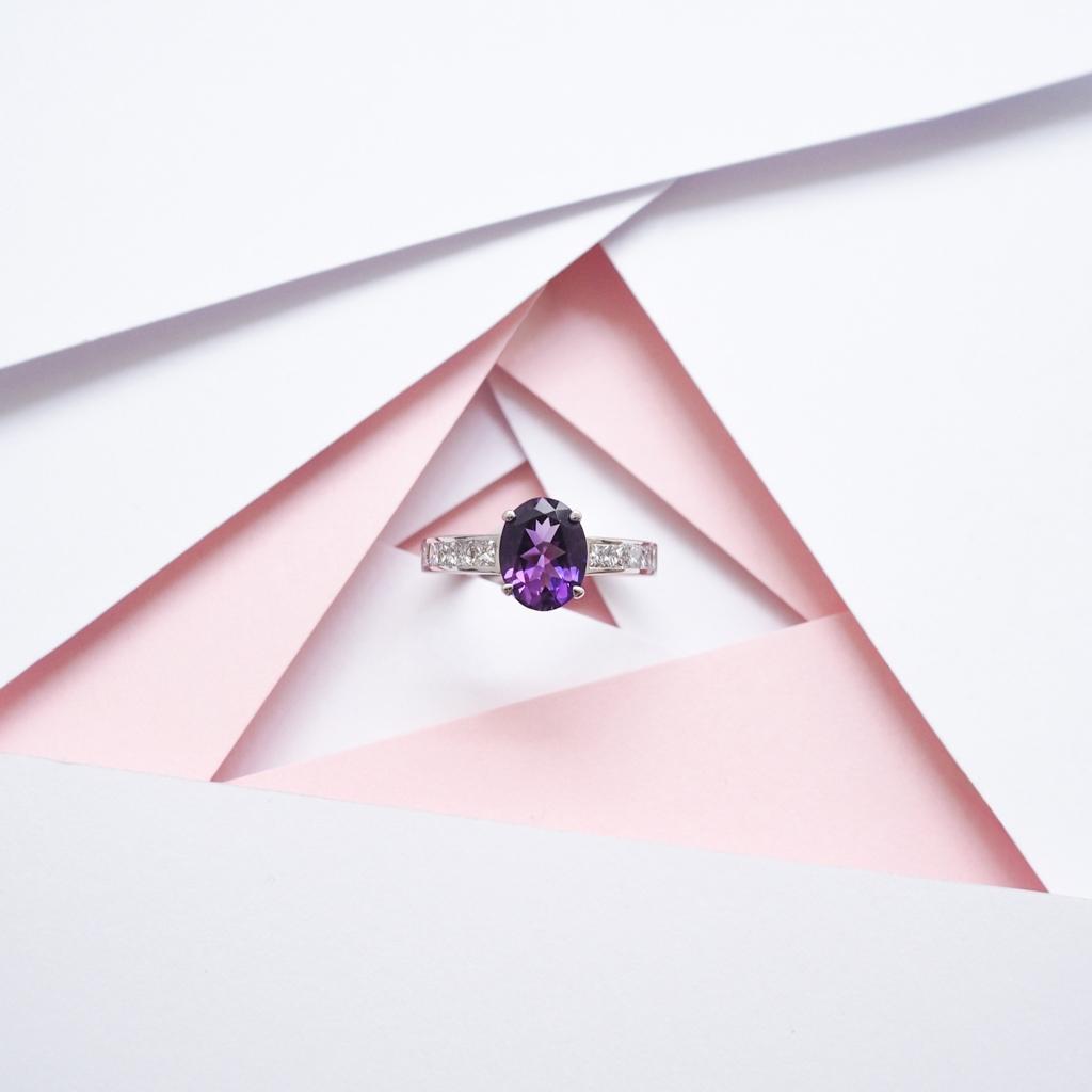Bague de fiancailles Gemmyo collection Madame 2016 diamant tanzanite l La Fiancee du Panda blog mariage-4222495